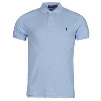 Textil Muži Polo s krátkými rukávy Polo Ralph Lauren DOLINAR Modrá