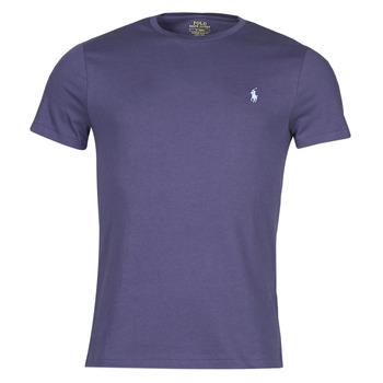 Textil Muži Trička s krátkým rukávem Polo Ralph Lauren OLITA Modrá