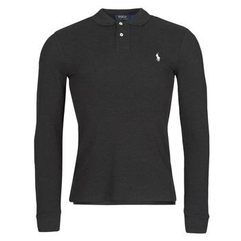 Textil Muži Polo s dlouhými rukávy Polo Ralph Lauren MOLINA Černá