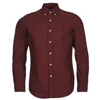 Textil Muži Košile s dlouhymi rukávy Polo Ralph Lauren KAOLMA Bordó