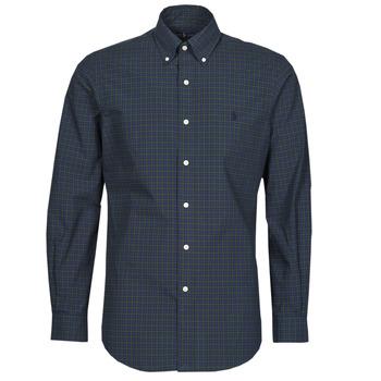 Textil Muži Košile s dlouhymi rukávy Polo Ralph Lauren RENIMA Zelená / Modrá