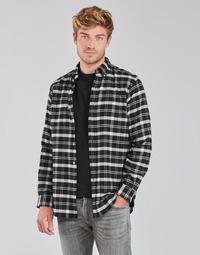 Textil Muži Košile s dlouhymi rukávy Polo Ralph Lauren PERINE Černá