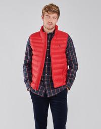 Textil Muži Prošívané bundy Polo Ralph Lauren PEROLINA Červená