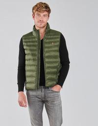 Textil Muži Prošívané bundy Polo Ralph Lauren PEROLINA Khaki