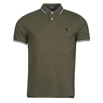 Textil Muži Polo s krátkými rukávy Polo Ralph Lauren HOULIA Khaki