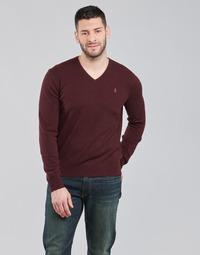 Textil Muži Svetry Polo Ralph Lauren SOLIMMA Bordó