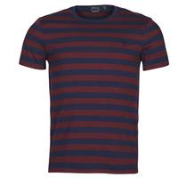 Textil Muži Trička s krátkým rukávem Polo Ralph Lauren POLINE Tmavě modrá / Bordó