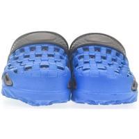 Boty Děti Dřeváky John-C Detské modré crocsy BENY modrá