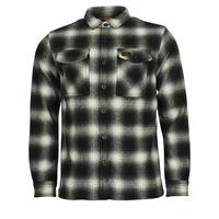 Textil Muži Bundy Superdry Wool Miller Overshirt Černá