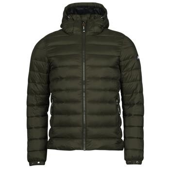 Textil Muži Prošívané bundy Superdry CLASSIC FUJI PUFFER JACKET Khaki