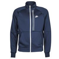 Textil Muži Bundy Nike  Modrá