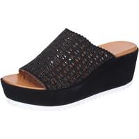 Boty Ženy Dřeváky Femme Plus Sandály BJ890 Černá