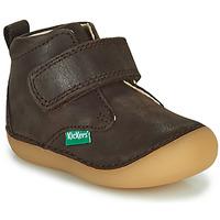 Boty Chlapecké Kotníkové boty Kickers SABIO Hnědá