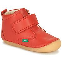 Boty Děti Kotníkové boty Kickers SABIO Červená