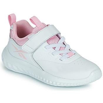 Boty Dívčí Nízké tenisky Reebok Sport RUSH RUNNER Bílá / Růžová