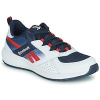 Boty Chlapecké Nízké tenisky Reebok Sport ROAD SUPREME Bílá / Tmavě modrá / Červená