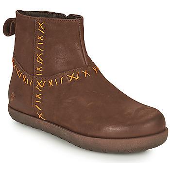 Boty Ženy Kotníkové boty Art RHODES Hnědá