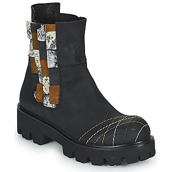 Boty Ženy Kotníkové boty Papucei WELS Černá