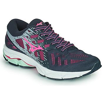 Boty Ženy Běžecké / Krosové boty Mizuno WAVE ULTIMA 11 Modrá / Růžová