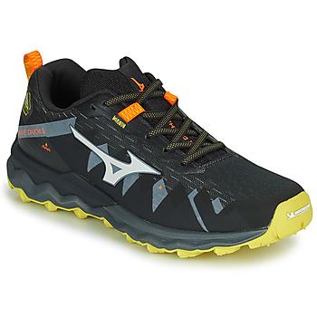 Boty Muži Běžecké / Krosové boty Mizuno WAVE DAICHI 4 Černá / Oranžová