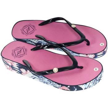Boty Ženy Žabky Super Gear Dámske ružové šľapky TROPIK ružová