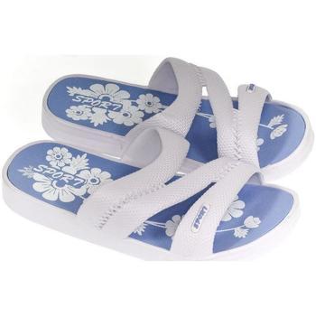 Boty Ženy Dřeváky John-C Dámske biele šľapky ELENI biela