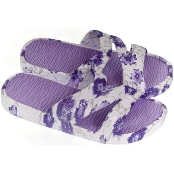 Boty Ženy Dřeváky John-C Dámske fialové šľapky DANIA fialová