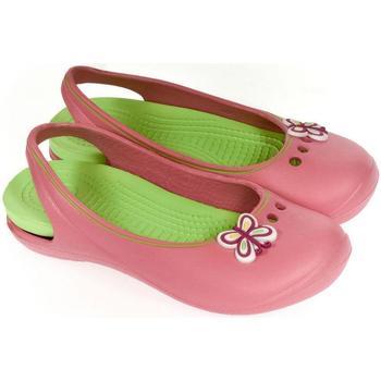 Boty Dívčí Dřeváky John-C Detské ružové crocsy EMMIE ružová
