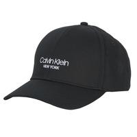 Textilní doplňky Kšiltovky Calvin Klein Jeans CK NY BB CAP Černá