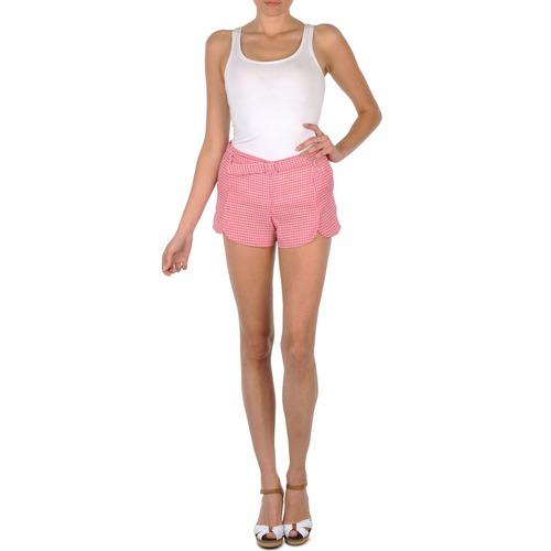 Textil Ženy Kraťasy / Bermudy Brigitte Bardot MAELA Růžová