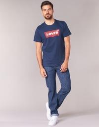 Textil Muži Rifle rovné Levi's 501® Levi's®ORIGINAL FIT Modrá