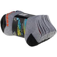 Doplňky  Děti Ponožky Skechers Boys 6pk No Show Socks Šedá