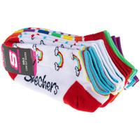 Doplňky  Děti Ponožky Skechers 6pk Girls No Terry