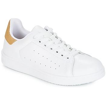 Boty Ženy Nízké tenisky Yurban SATURNA Bílá / Zlatá