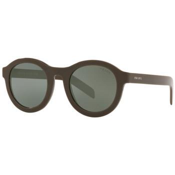 Hodinky & Bižuterie Muži sluneční brýle Prada  Zelená