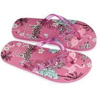 Boty Ženy Žabky Super Gear Detské ružové šľapky SAFARI ružová