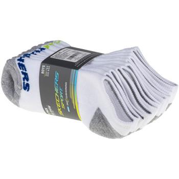Doplňky  Děti Ponožky Skechers Boys 6pk No Show Socks Bílá