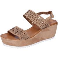 Boty Ženy Sandály Femme Plus Sandály BJ895 Hnědý