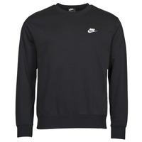 Textil Muži Mikiny Nike NIKE SPORTSWEAR CLUB FLEECE Černá / Bílá