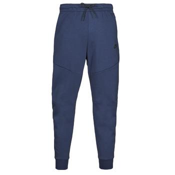 Textil Muži Teplákové kalhoty Nike NIKE SPORTSWEAR TECH FLEECE Tmavě modrá / Černá