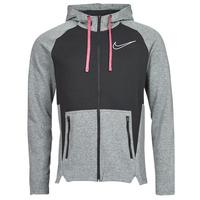 Textil Muži Mikiny Nike M NK TF HD FZ NVLTY Černá / Bílá