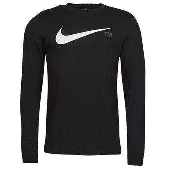 Textil Muži Trička s dlouhými rukávy Nike M NSW TEE LS GRX TEE Černá