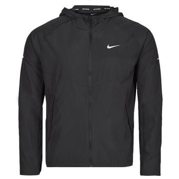 Textil Muži Větrovky Nike M NK RPL MILER JKT Černá / Stříbrná