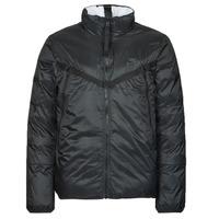 Textil Muži Prošívané bundy Nike M NSW TF RPL REVIVAL REV JKT Černá / Šedá
