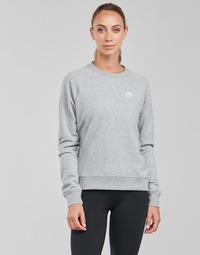 Textil Ženy Mikiny Nike NIKE SPORTSWEAR ESSENTIAL Šedá / Bílá