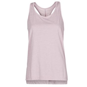 Textil Ženy Tílka / Trička bez rukávů  Nike NIKE YOGA Fialová