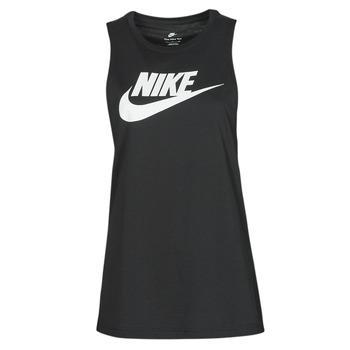 Textil Ženy Tílka / Trička bez rukávů  Nike NIKE SPORTSWEAR Černá / Bílá