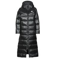 Textil Ženy Prošívané bundy Nike W NSW TF CITY HD PARKA Černá / Bílá