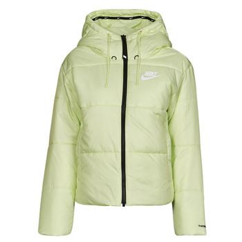 Textil Ženy Prošívané bundy Nike W NSW TF RPL CLASSIC TAPE JKT Zelená / Černá / Bílá