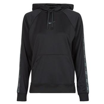 Textil Ženy Mikiny Nike W NSW PK TAPE PO HOODIE Černá